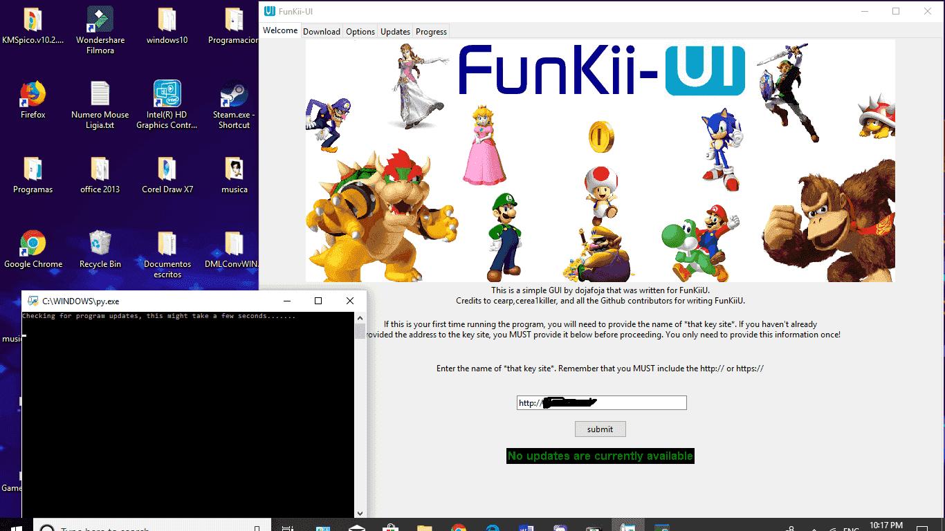 A simple GUI for FunKiiU