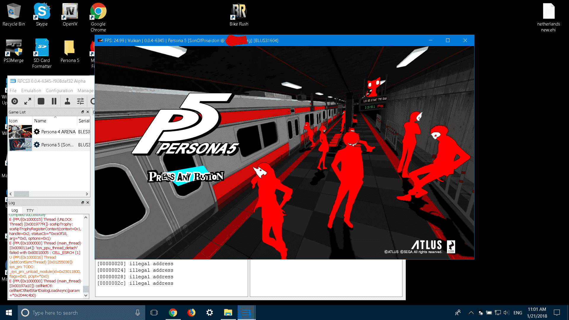 anyone can help me with RPCS3 please(persona 5) | GBAtemp