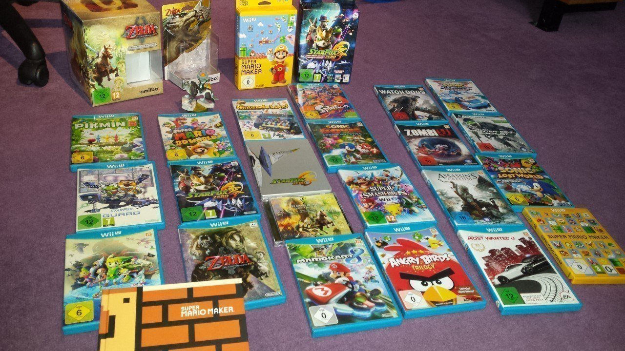 Wii U Games : Cosmocortney s video game collection gbatemp the