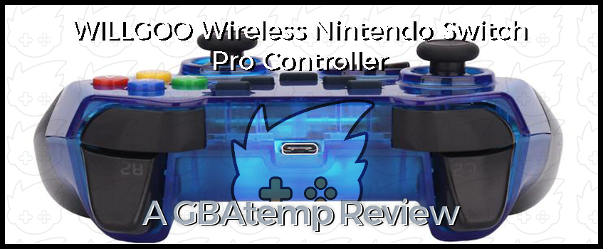 Review: WILLGOO Wireless Nintendo Switch Pro Controller (Hardware