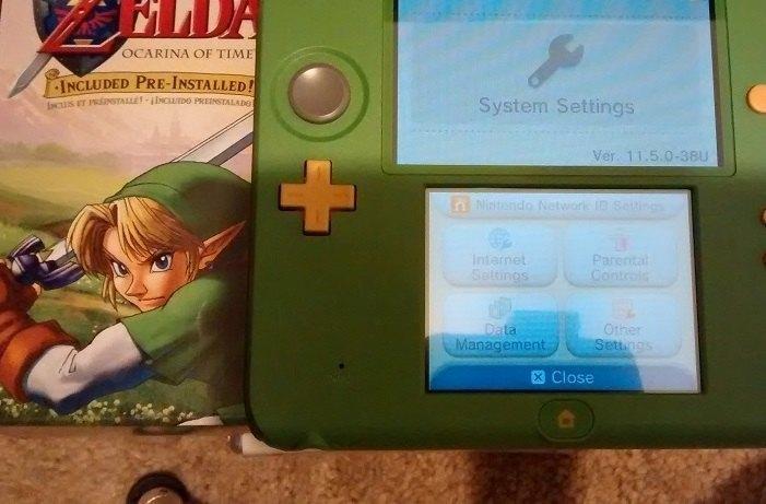 2ds Zelda edition firmware and grip   GBAtemp net - The