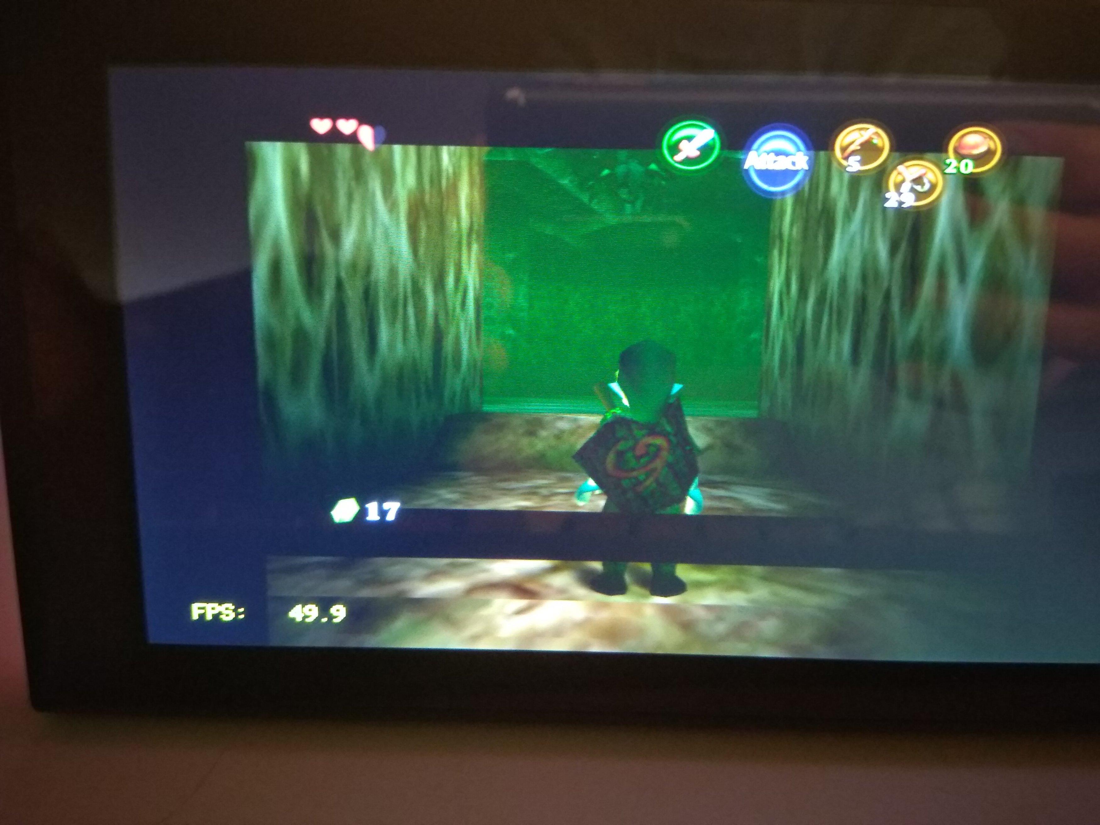 Question - Retroarch w/ mupen64 - UI/Textures offset on Ocarina
