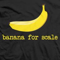 BananaForScale