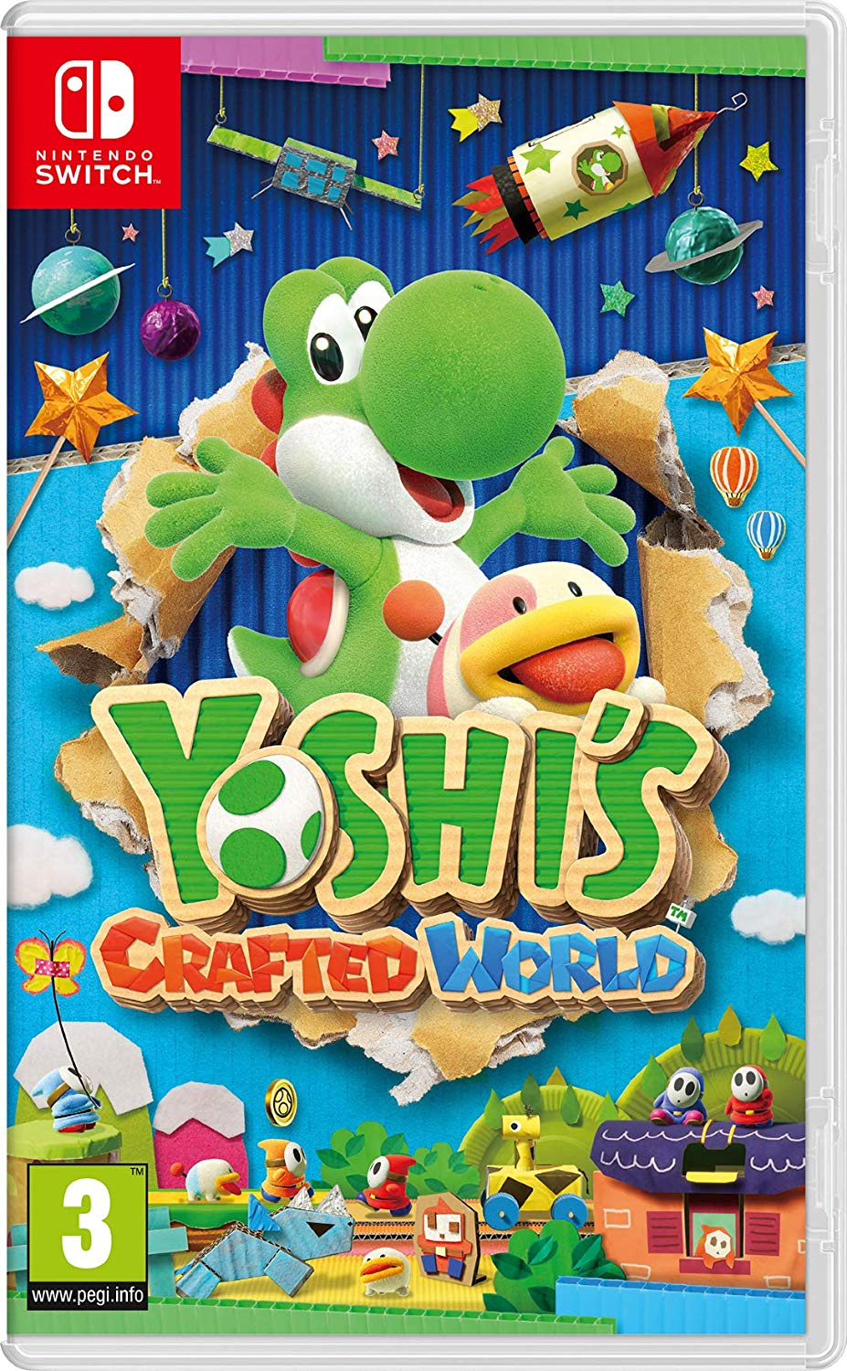 Review: Yoshi's Crafted World (Nintendo Switch) | GBAtemp net - The