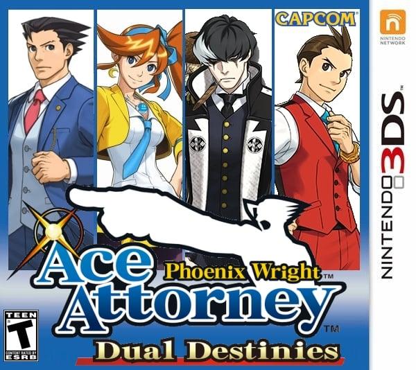 Phoenix Wright Ace Attorney Trilogy Best Price! 3DS Japan