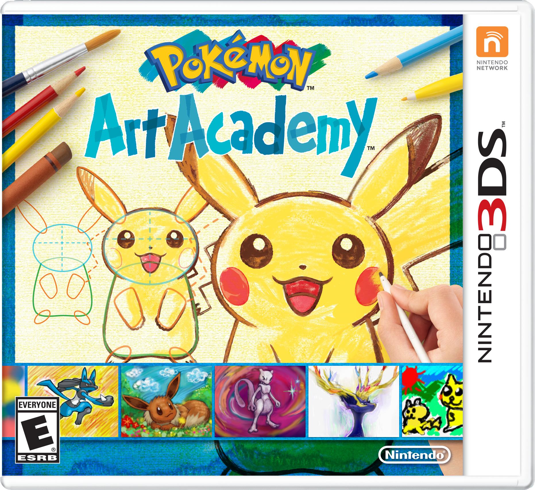 Nintendo 3ds Pokemon Games : Review pokémon art academy nintendo ds gbatemp