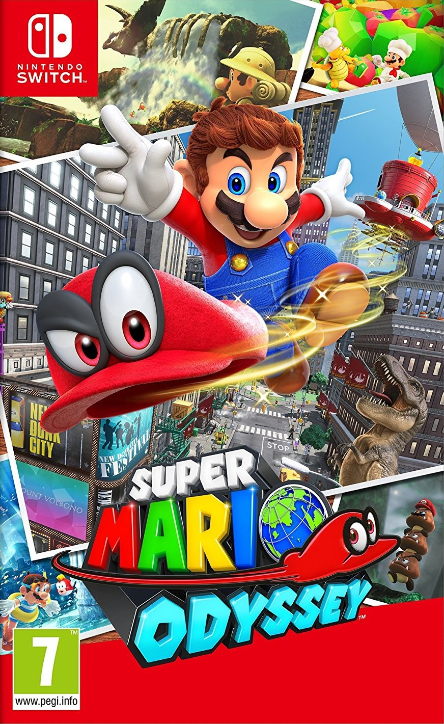 Review: Super Mario Odyssey (Nintendo Switch) | GBAtemp net - The