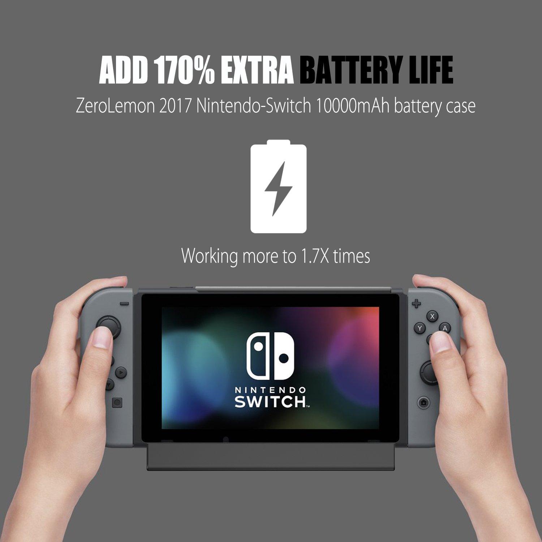 online store 5427b 3e386 Review: ZeroLemon 10,000mAh Switch Charger Case (Hardware) | GBAtemp ...