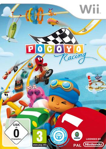 Pocoyo Racing  Wii  Pal  Castellano  FSN FLS FJ DU