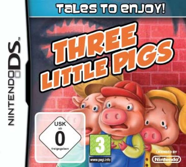 Tales to Enjoy - The Three Little Pigs EUR [MULTi6] [FR] NDS [MULTI]