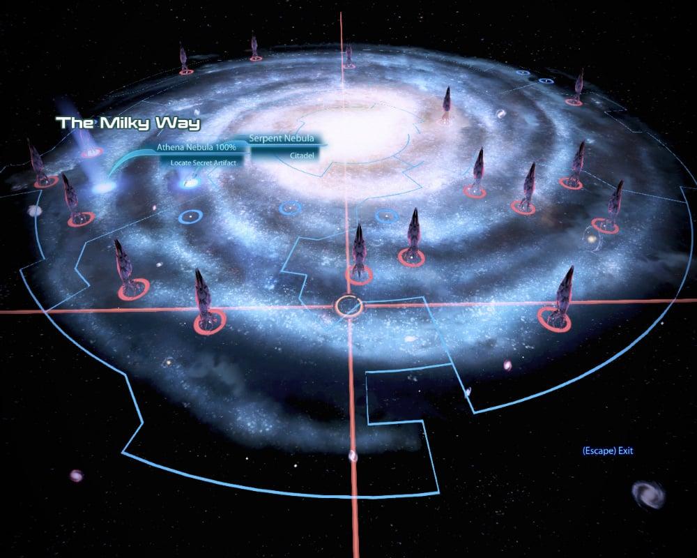 Mass Effect Star Map.Review Mass Effect 3 Computer Gbatemp Net The Independent
