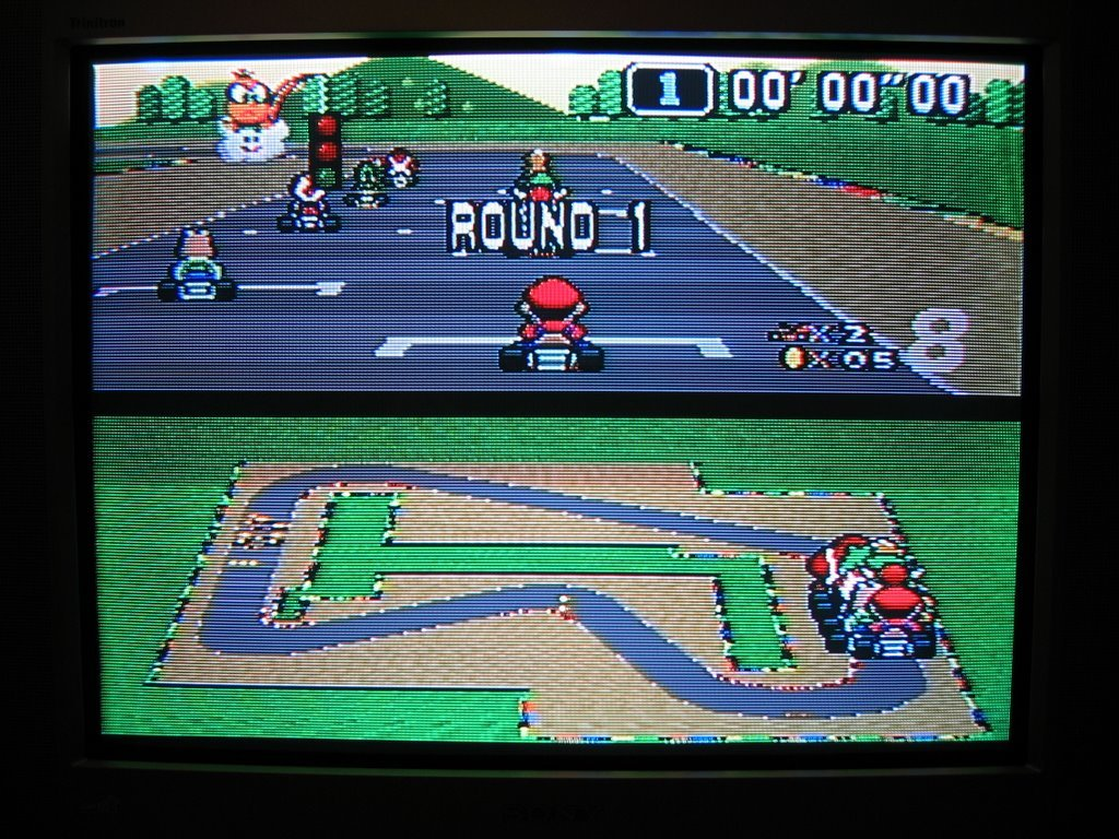 super mario kart flash