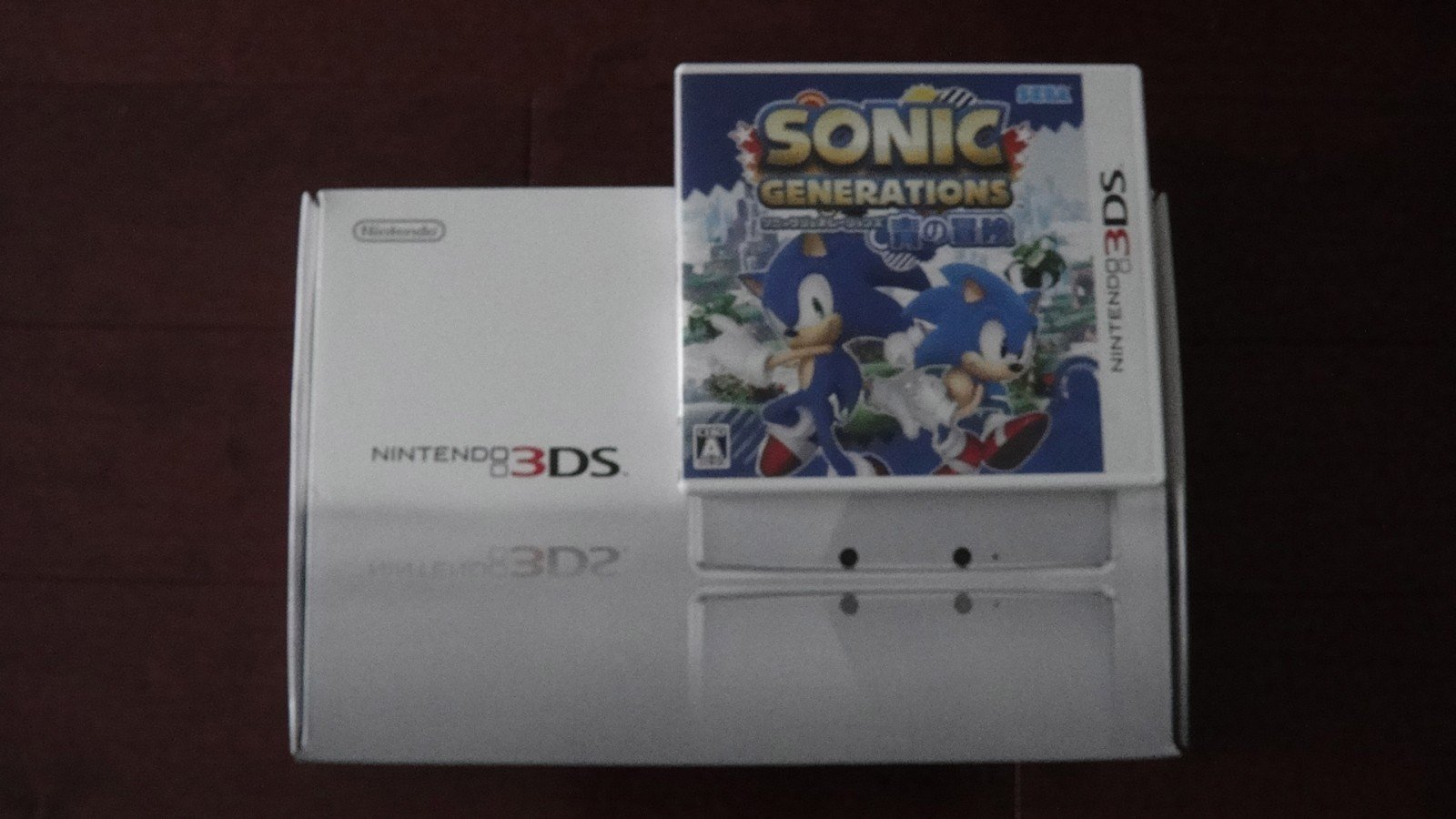 Sonic Generations 3DS Game Card